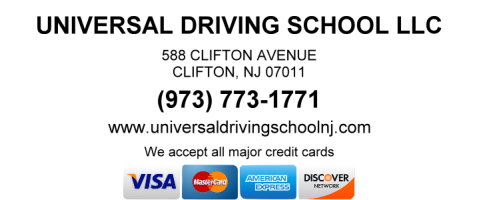Universal Driving School NJ Rates – Quality at Affordable rates…